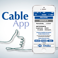 Draka lanceert de Cable App. Duurzaam advies voor iedere klus!