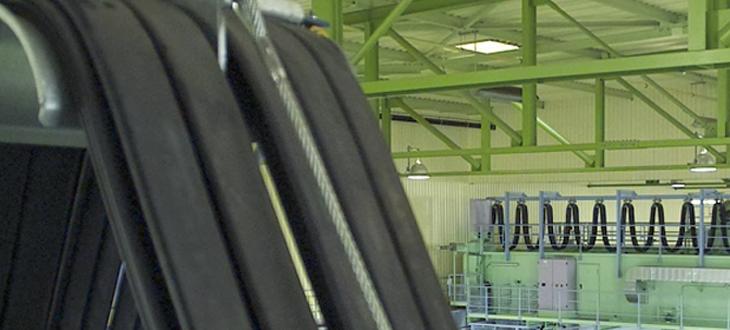 Kabelwagenkabels – plat