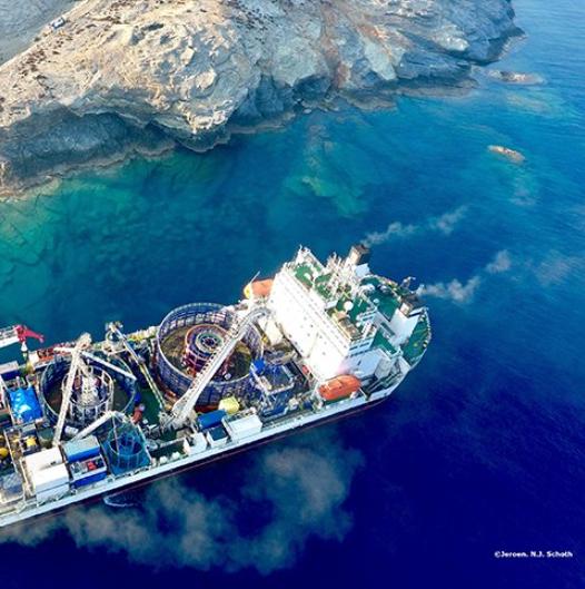Prysmian Group rolt met succes het onderzeese interconnectie project voor Griekse eilanden uit